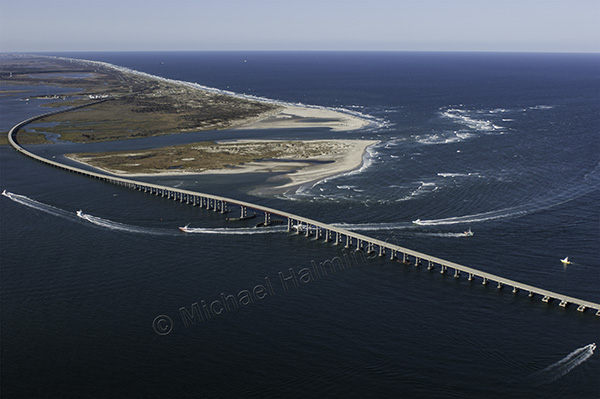 Michael halminski photography inlets and sandbars for Oregon inlet bridge fishing report