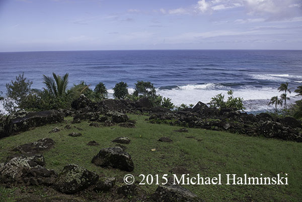 view from Heiau